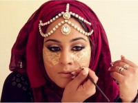 Henna Contouring, the art of face contouring in its Hindu version